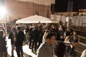 aperitivo inaugurazione edificio gli oleandri sesto fiorentino